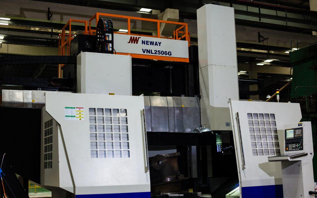 Neway Első Új Designja 2017-ben VNL2506G CNC függőleges forgácsolás és köszörülés esztergán